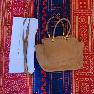 Marc by Marc Jacobs Brown Pebbled Leather Tote